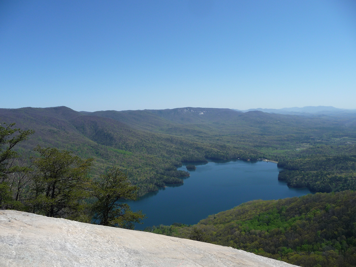 Table Rock State Park Reservoir View From Top Of